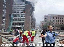 Atentado explosiones en Noruega Oslo Utoya