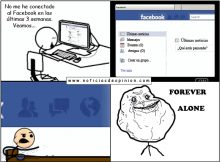 Forever alone - Facebook