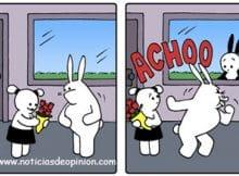 Humor - Viñeta - Buni intenta romper una pareja