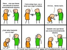 Humor - Viñeta - Cyanide and happiness en español