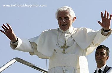 Llegada del Papa a Madrid