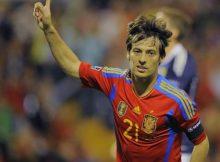 España candidata a ganar la Euro 2012 por su buen juego silva