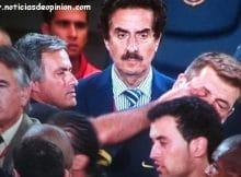Sancion a Mourinho por meter el dedo en el ojo a Vilanova