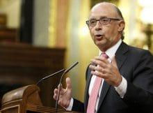 El Congreso aprueba recortes del Gobierno - Cristobal Montoro