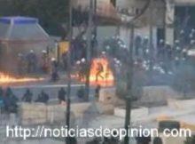 Disturbios en Grecia incendios y fuego