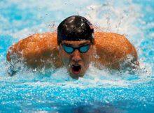 Michael Phelps en Londres 2012