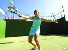 Tenis y padel deportes muy de moda