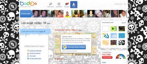 Personalizar el perfil en Badoo