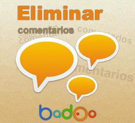 Eliminar comentarios de Badoo en fotos